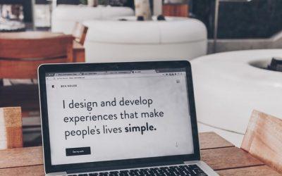 Le marketing digital : la création d'un site web